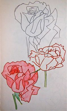 Roses are red #creativemoi #drawing