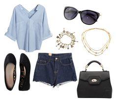 """""""Sem título #446"""" by biaprestes ❤ liked on Polyvore featuring Chicnova Fashion and Aéropostale"""