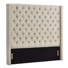 Wingback Headboard, Queen Headboard, Panel Headboard, Bedroom Bed, Bedrooms, Bedroom Ideas, Master Bedroom, Manicure At Home, Reading In Bed