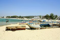 Hammamet Beach, Tunisia