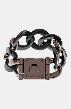 Michael Kors 'Equestrian Luxury' Bracelet available at #Nordstrom this looks like the watch i wanted mom!@Mawe Wegner