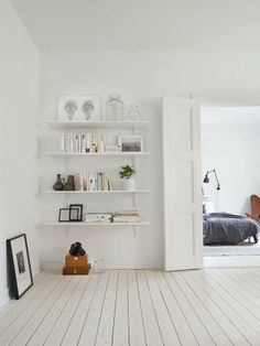 consider painting the wooden floors