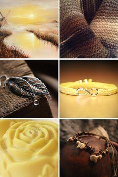 «Дуэт лимона и шоколада» — коллекция предметов ручной работы  Handmade items set, see more: http://www.livemaster.ru/gallery/1404717