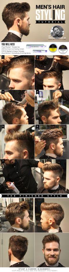Haircut hairstyle men 2014