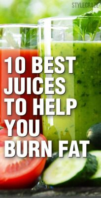 10 Best Juices To Help You Burn Fat