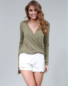 BLUSA M/L TWISTED  TPML0136  MarketFashion