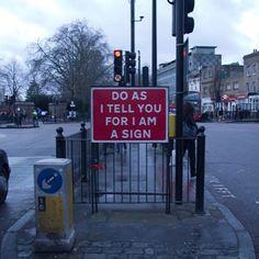 Street sign by @m.obstr.  www.UpFade.com #StreetArtGlobe #StreetArt