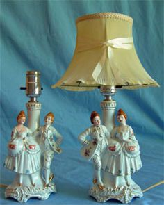 1000 Images About Occupied Japan Lamps On Pinterest
