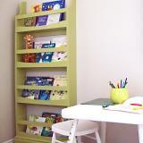 DIY from Ana White - forward-facing bookshelves