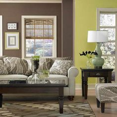 green brown living room on pinterest green and brown green living
