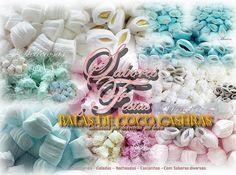 "As mais deliciosas balas de coco caseiras - feitas artesanalmente - 100% caseiras. Balas   Personalizadas para cada cliente - para todas as ocasiões. Festas, Aniversários, Casamentos, Buffet, Eventos, Maternidades, Chá de bebê, Brindes etc.  Deliciosas - Macias -Saborosas.  Delicias que derretem na boca ""  Encomendem essas delicias!!!   #compartilhe #doces #Balas #culinaria #confeitaria #docesfinos #balasdecoco #coffe #natal #empresas"