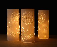 Make a Set of DIY Paper Dandelion Lanterns | Make: DIY Projects, How-Tos, Electronics, Crafts and Ideas for Makers | MAKE: Craft