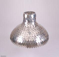 Sweet aluminum lamp from Shinny Hammer.