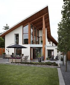 Exklusivt hus med Skandinavisk design