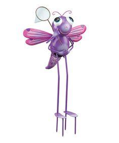 Love this Dragonfly Stake on #zulily! #zulilyfinds