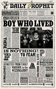 Harry Potter - The Daily Prophet ( 11