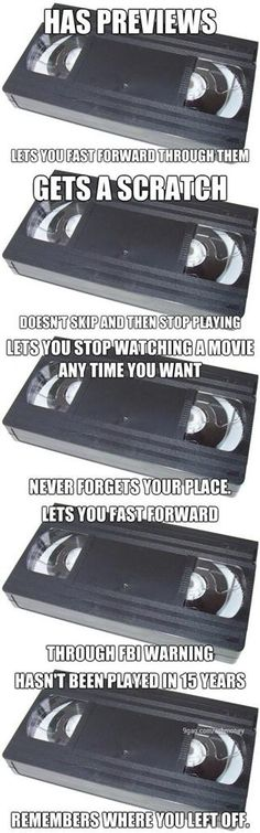 Why I still love my VHS tapes