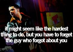 Okay, so I'm not really a big Drake fan, but I have to admit, he does say some pretty smart stuff.