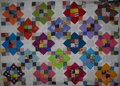 """I Loved Making This Quilt! No Squaring Up Was Needed!!"" from the Message Boards"