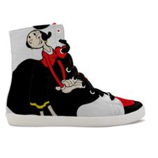 IDX Shoes is a place for people who look for new ways to express their creativity and originality in footwear. Yin Yang, Pop Art, High Top Sneakers, Footwear, Wedges, Showroom, Creative, Fun, Tops