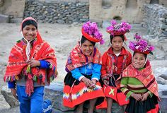 I want to visit Peru, for the color.