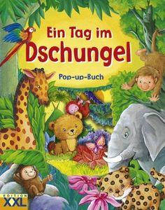 9783897364851: Ein Tag im Dschungel: Pop up-Buch