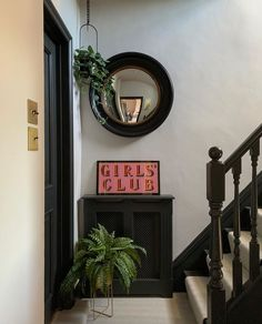 How to add character and interest to a small, narrow hallway. Hallway Decorating, Interior Decorating, Little Greene Paint, Living Room Plants, Victorian Tiles, Makeover Before And After, Stair Landing, Abigail Ahern, Small Room Design