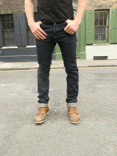 IH-555-01 Slim Selvedge Jean -21 oz. 100% cotton selvedge denim -Sanforized (minimal shrinkage) -Lined rear pockets -Button fly -Belt loops sewn into waist band -Selvedge side seams and fly construction -Poly/cotton constructional stitching -Chain stitched hem -Crafted in Japan