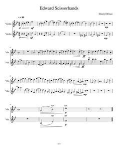 Edward Scissorhands/ Arranged by Me:)