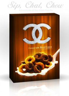 CEREAL COUTURE...flavored with real coco!