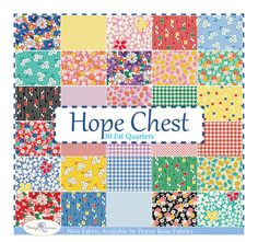 Hope Chest Fat Quarter Bundle by Penny Rose Fabrics  Hope Chest Fat Quarter Bundle includes 30 Fat Quarters cut from the yardage, by Starlit Quilts
