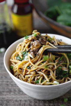 Vegan Dan Dan Noodles - This is a vegan recipe for dan dan noodles you won't be…