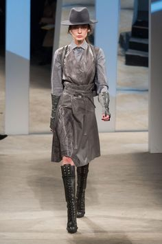 Pin for Later: Autumn in 100 Outfits: The Must-See Looks From the Major Fashion Weeks Kenneth Cole Autumn/Winter 2014