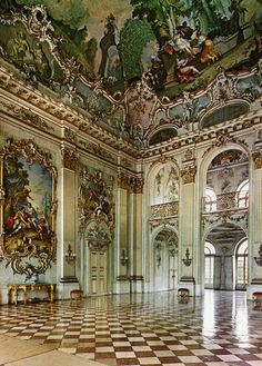 Nymphenburg Palace, München, Germany.