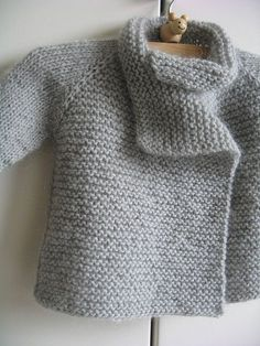 Thirsty Rose baby sweater pattern.