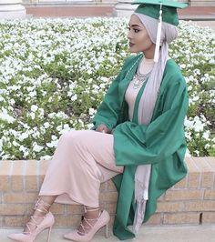 And to all the graduates of Dubai Fashion, Muslim Fashion, Modest Fashion, Unique Fashion, Hijab Fashion, Hijabi Girl, Girl Hijab, Hijab Outfit, Graduation Picture Poses