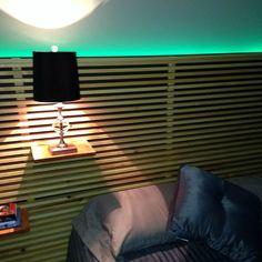 Custom IKEA Mandal Headboard DIY - kept for backlight idea - cool but probably not practical Diy Bed Headboard, Room Redo, Bedroom Design, Ikea Mandal Headboard, Diy Home Decor, Entryway Decor, Diy Apartments, Ikea, Headboards For Beds