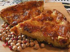 farinata provola prosciutto...ligurian recipe! very good stuff