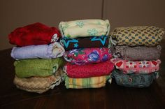 Homemade Cloth Diapers :)