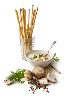 Polish Mushroom Soup. (I add 1.2 cup or barley, just like my Babcia does! Yum yum!)