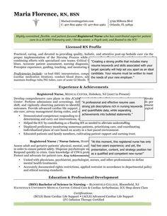 sample registered nurse resume example resume templates pinterest registered nurse resume resume examples and nursing resume - Examples Of Nursing Student Resumes