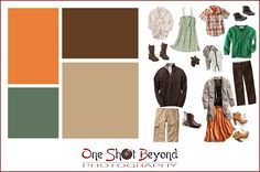 What to wear to a photo session (fall colors)