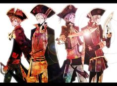 Pirate England, and The Pirate Bad Touch Trio