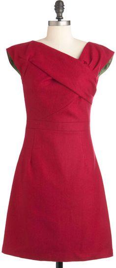 Raspberry Debut Dress