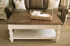 Farmhouse Coffee Table and End table set