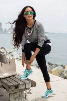 Vanessa Balli: Sporty Chic                                                                                                                                                      More