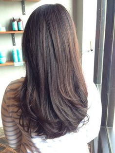 Long layers and sun kissed Balayage by Galina | Yelp