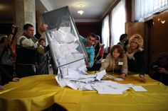 Russia Hails Local Votes to Split From Ukraine as EU Imposes Sanctions - Bloomberg