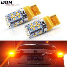 7440 Amber LED Bulbs No Hyper Flash for Turn Signal Light for Ford Toyato,Honda
