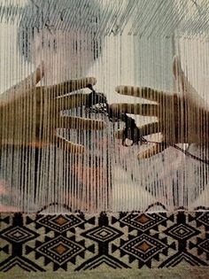 National Geographic, Kabyle Woman Weaving a Rug, 1973
